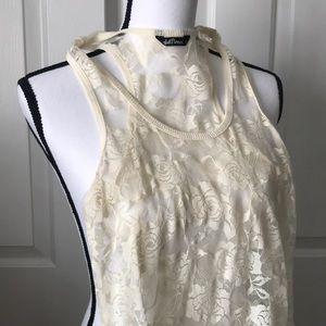 Wallflower Lace Tank top
